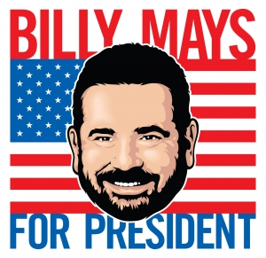 Hi, Billy Mays here for... Billy Mays for President!