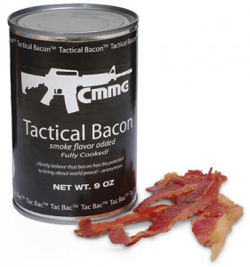 Open Can Receive Bacon